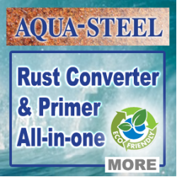 Aquasteel.co.uk Rust treatment, converter