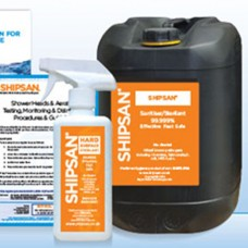 Shipsan Potable Water Treatment - For Pipes, Hoses, Shower-Heads & Shock Dose Sterilant 25 Litre